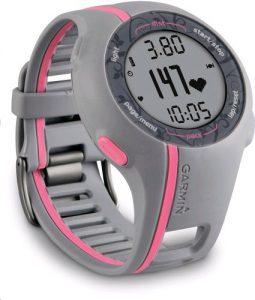 Garmin GPS Laufuhr Forerunner 110 W mit Brustgurt (für Damen)